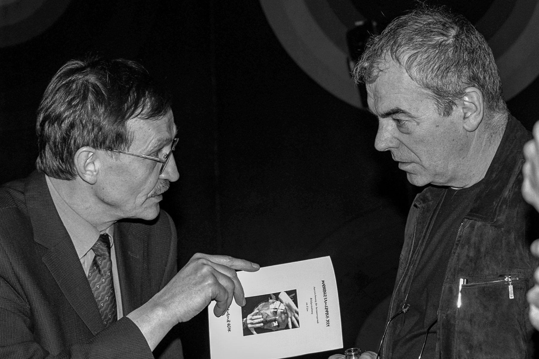 Karl Prümm Slawomir Idziak Marburger Kamerapreis
