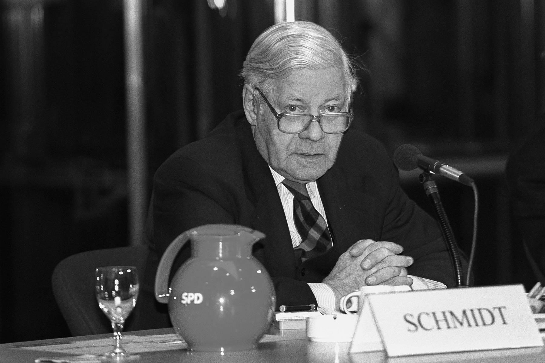 Helmut Schmidt 1998