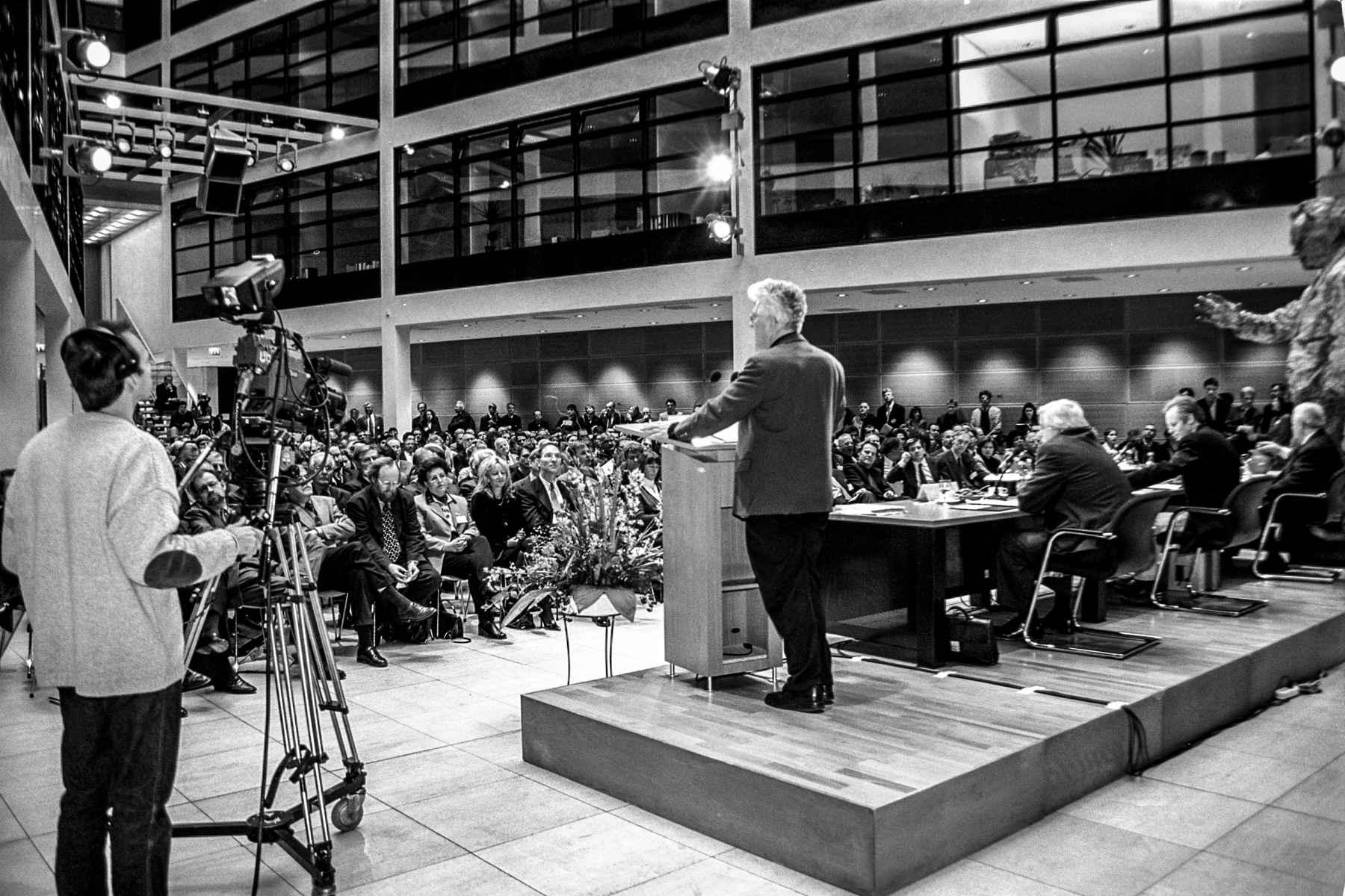 SPD Willy Brandt Haus Berlin Karsten D. Voigt